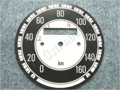 Dial, Speedometer 160km ( Jawa 500 OHC 02 )(030030)