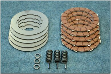 Disk, clutch friction - complete set ( Jawa,ČZ 125,175 )  (050131)