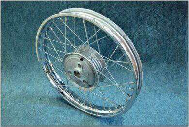 """wheel 16 """"x 1,5 complete - bare (Pio 20) zinc(111104)"""