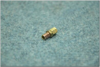 cable guide, screw + nut M6x0.75x15mm (BAB, Pio, Simson, MZ)(120538)