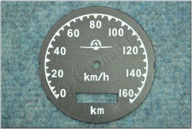 Dial, Speedometer 160km ( M72 ) D=77mm(790002)