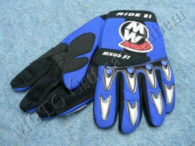 Gloves GL1 - blue ( Motowell )(880006M)