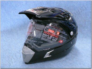 Enduro Helmet SH-311 Tourism Negro ( SHIRO )(890775M)