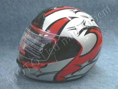 Full-face Helmet FF1 - littlestar red ( Motowell )  (890076M)
