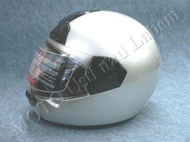 Helmet FF1 - silver ( Motowell ) Size L(890102)