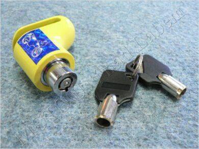 Brake disc lock - yellow ( UNI )(900257)