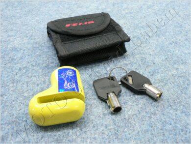 Brake disc lock RMS - yellow, small ( UNI )(900333)