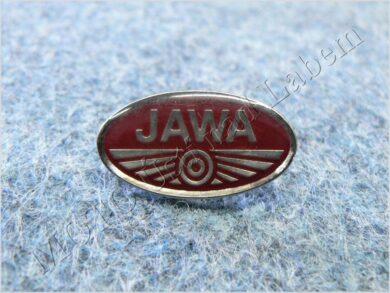 Pin badge JAWA red(930047)