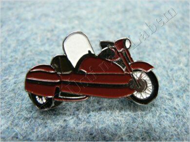 Pin badge motorcycle w/ sidecar(930311)
