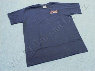 T-shirt blue w/ picture Jawa Panelka, Size L(930321)