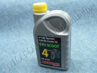Engine oil 4T  5W-40 Hi-synth SYN SCOOT Denicol (1L)(950026)