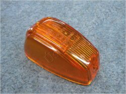 Glass oval, turn signal light ( Panelka )