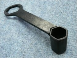 Spark plug wrench 21/32mm ( UNI,Jawa,ČZ,Sim,MZ )
