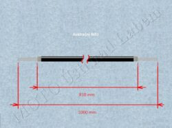 Bowden cable, Rr. brake w/ hook ( Jawa,ČZ )(011297)
