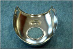 Headlight casing upper ( Kývačka with ampermeter) chrom(011851)