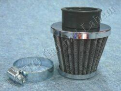 Air filter racing  D38, intake ( UNI,Jawa 638-640 ) cone big