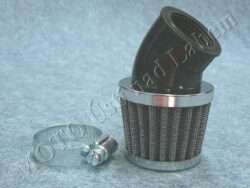 Air filter racing  D32 - 45°, intake ( UNI,Jawa,ČZ ) cone little