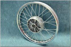 "wheel 19 ""x 1,85 - with seal (Jawa Sport ) chrome"