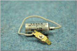Condenser w/ wire, plug ( Jawa,ČZ ) TESLA CZK(012008)