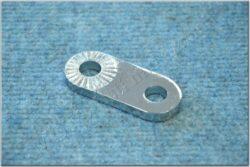 front footrest bracket - flat (Perak) chrome