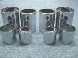 Cases , Rr. telescopes - set 8pscs. ( Jawa 500 OHC )
