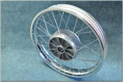 "wheel 18 ""x 2,15 - with seal (Jawa 634-638) chrome"