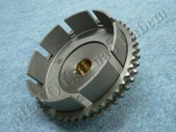 Chain wheel cpl. w/ clutch housing basket, double row ( Jawa 634 )