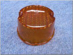 Glass round, turn signal light ( Jawa 638 )