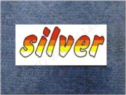 Sticker / decal / SILVER (Jawa 640 )