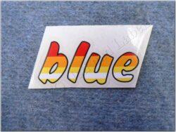 Sticker BLUE ( Jawa 640 )