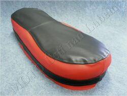 Seat cover, black-red ( Pionyr 20,21 )