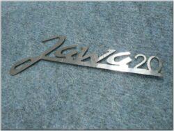 Logo JAWA 20 ( Pio 20 ) 0,5mm