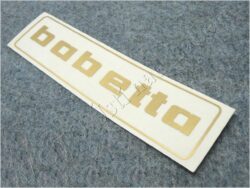 Sticker BABETTA - gold 145x37