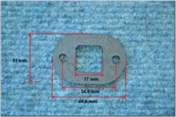 Gasket, Suction flange 0,5 ( BAB 210 )(120485)