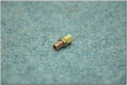 cable guide, screw + nut M6x0.75x15mm (BAB, Pio, Simson, MZ)