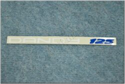sticker Dandy 125 - 175x10, white ( Jawa 125 Dandy )