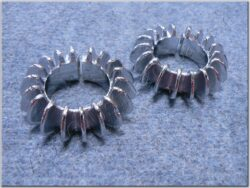 Collars, exhaust pipe ( ČZ 125 B,T )