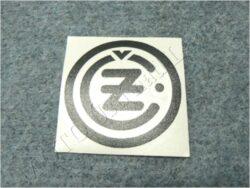 Sticker ČZ - black 50x50