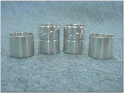 Bushing set 4pcs., Fr. fork ( ČZ )