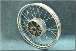 wheel Fr. assy, rabbet on drum ( Jawa,ČZ ) orig.Jawa zinc