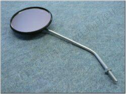 Rear view mirror circle M8x1,25 RH ( Simson 6V ) orig.