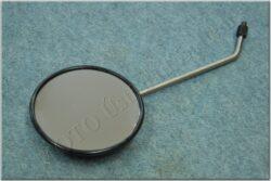Rear view mirror circle M8X1,25 RH ( Simson 12V ) orig.