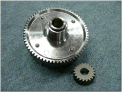 Clutch hub, teeth rim ( Simson S51 ) 65/20T