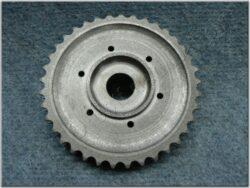 Chain wheel w/ clutch housing basket ( MZ 150 )(600158)