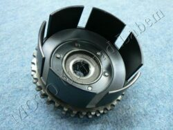 Chain wheel cpl. w/ clutch housing basket ( MZ 150 )