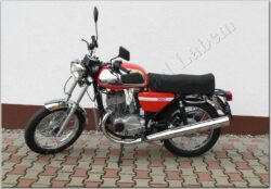 Motocycle Jawa 350/ 634 Retro red