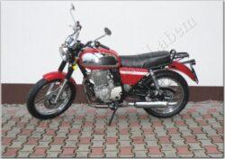 Motocycle Jawa 350 OHC/ 845 red