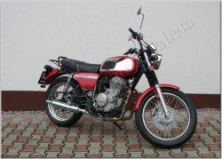 Motocycle Jawa 350 OHC/ 845 red  (700055)