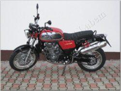 Motocycle Jawa 660/ 836-6 Vintage red