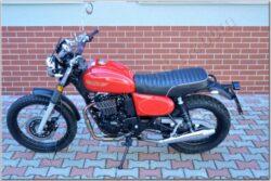 motorcycle Jawa 350 OHC SCRAMBLER - red
